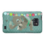 Lil' Lucky Elephant Green Case Galaxy SII Case