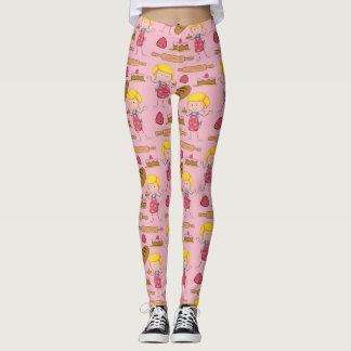 Lil Miss Baker ( Pale Pink ) Leggings