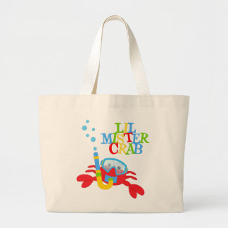 Lil Mister Crab  Jumbo Tote