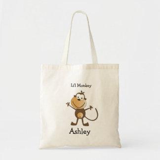 Li'l Monkey Tote Bag