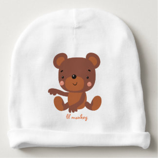 Lil monkey unisex beanie baby beanie