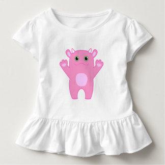 Li'l Monster Baby Tee - pink