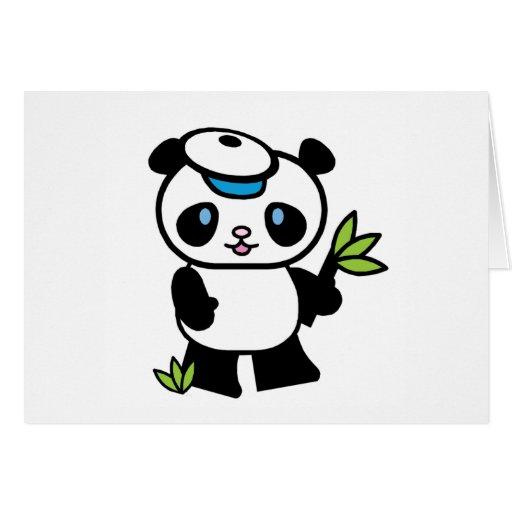 Lil Panda Boy Card