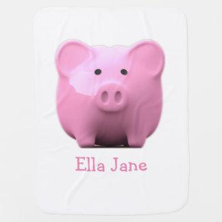 Lil Piggy Baby Blanket