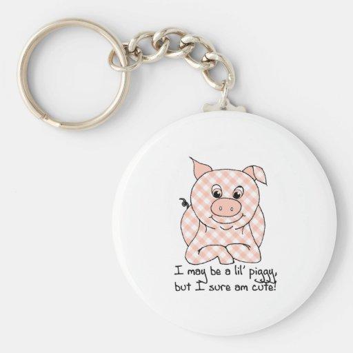 Lil' Piggy Keychains