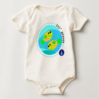 lil' PISCES Baby Bodysuit