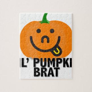 Lil Pumpkin Brat Jigsaw Puzzle