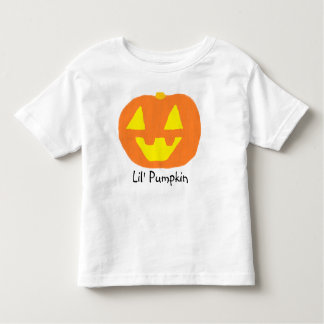 Lil' Pumpkin Jack O'Lantern Toddler T-shirt