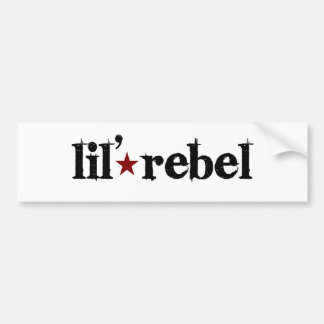 Lil Rebel Bumper Sticker
