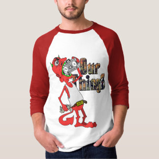 Lil' Red Devil Baseball Tee