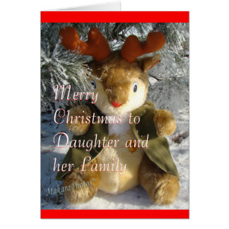 Lil Reindeer Christmas card - customize it