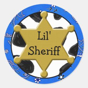 Lil Sheriff Badge Sticker