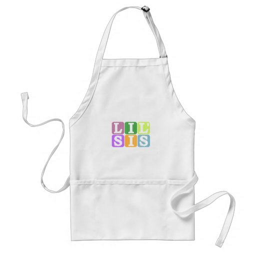 Lil sis apron