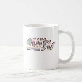 Lil Sis Basic White Mug