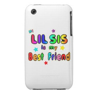 Lil Sis Best Friend iPhone 3 Cases