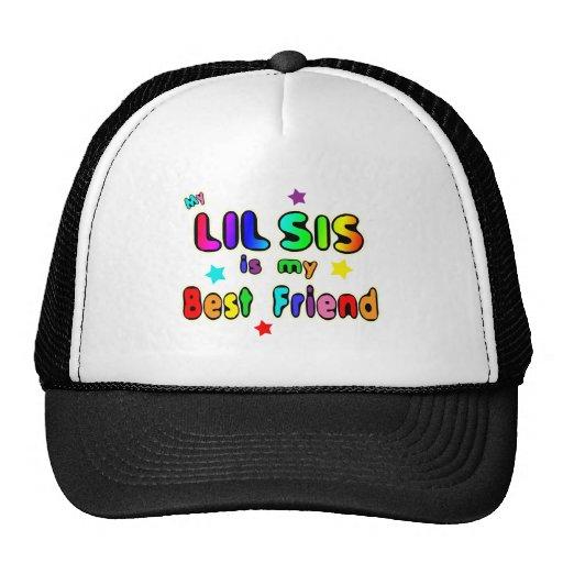 Lil Sis Best Friend Trucker Hats