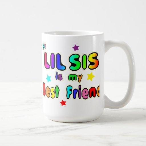 Lil Sis Best Friend Coffee Mugs