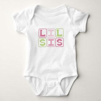LIL SIS BLOCKS BABY BODYSUIT
