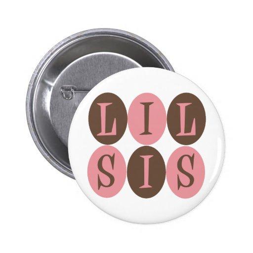 Lil Sis button