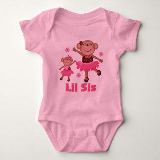 Lil Sis Cute Monkey T-shirt