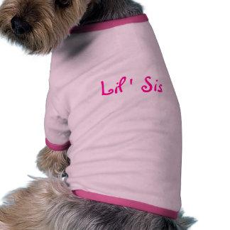 Lil' Sis- Dog T-shirt