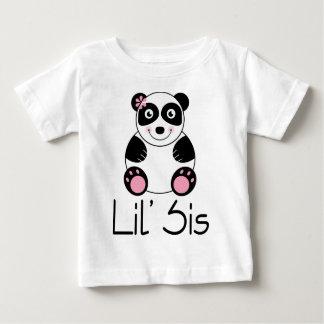 Lil Sis Panda Infant Toddler Tee Shirt