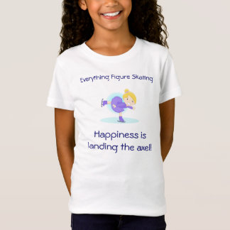 Lil SKater - Happiness is landing the axel! T-Shirt