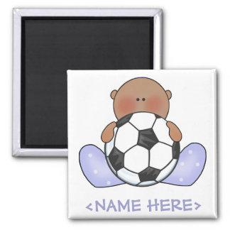 Lil Soccer Baby Boy- Ethnic Magnet