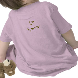 Lil Sparrow Toddlers T Tshirts