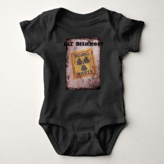 Lil' Stinker Nuclear Waste Baby Bodysuit! Baby Bodysuit