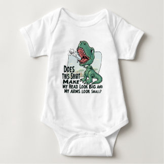Lil' T Rex Big Head Little Arms Baby Bodysuit