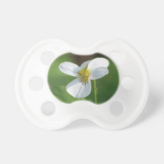 Lil White Flower Pacifier
