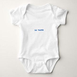 Lil' Yooper Michigan Baby Bodysuit BLUE