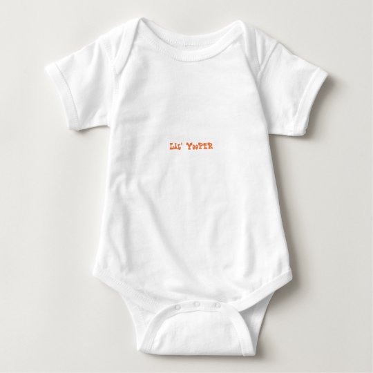 Lil' Yooper Michigan Baby Bodysuit ORANGE