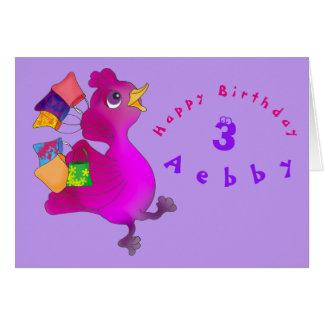 Lila Birthday Shopping by The Happy Juul Company Card