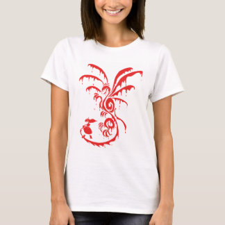 Lila Dragon (Red) T-Shirt