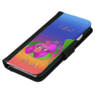 Lila is talking by The Happy Juul Company iPhone 6 Wallet Case