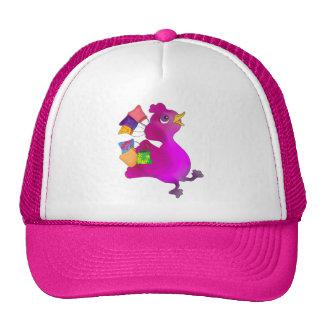 Lila loves Shopping by The Happy Juul Company Trucker Hat