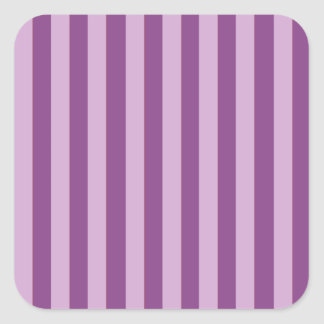 Lila Stripes Square Sticker
