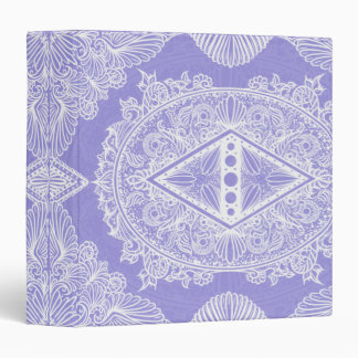 Lilac , Age of awakening, bohemian, newage 3 Ring Binder