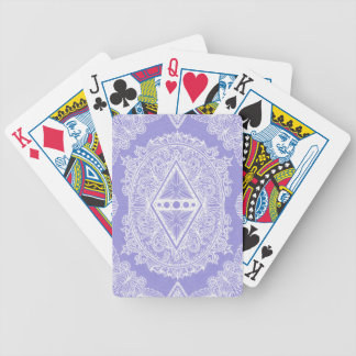 Lilac , Age of awakening, bohemian, newage Bicycle Playing Cards