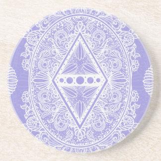 Lilac , Age of awakening, bohemian, newage Coaster