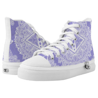 Lilac , Age of awakening, bohemian, newage High Tops