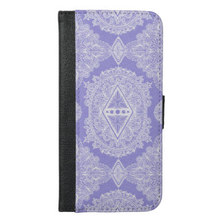 Lilac , Age of awakening, bohemian, newage iPhone 6/6s Plus Wallet Case
