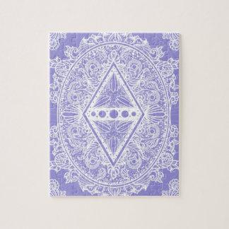Lilac , Age of awakening, bohemian, newage Jigsaw Puzzle
