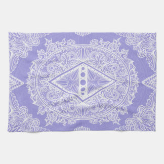 Lilac , Age of awakening, bohemian, newage Kitchen Towel
