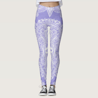 Lilac Age of awakening, bohemian, newage Leggings