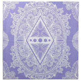Lilac , Age of awakening, bohemian, newage Napkin