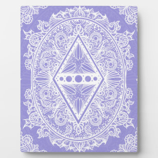 Lilac , Age of awakening, bohemian, newage Plaque