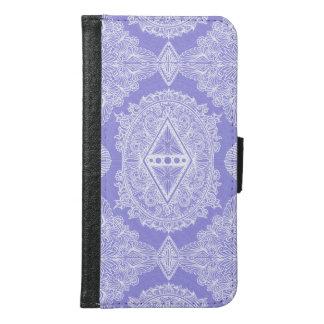 Lilac , Age of awakening, bohemian, newage Samsung Galaxy S6 Wallet Case